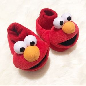 Toddler Elmo Slipper Booties